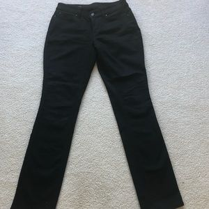 Ann Taylor curvy fit straight leg jeans